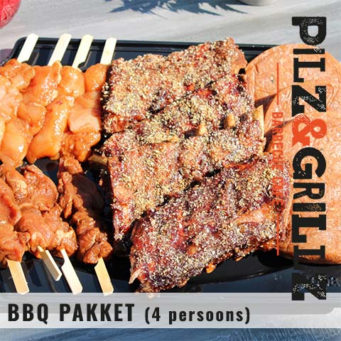 BBQ pakket 4 persoons
